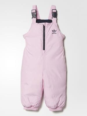 Комбинезон розовый | 4663809