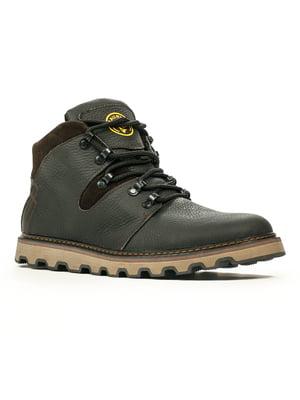 Ботинки черно-коричневые | 5267289
