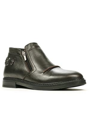 Ботинки темно-коричневые | 5271849
