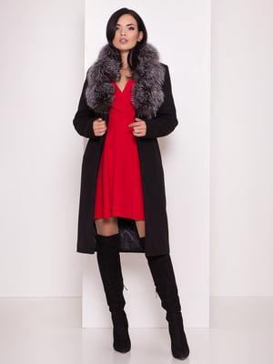 Пальто черное   5228332