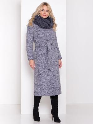 Пальто сіро-блакитне | 5267296
