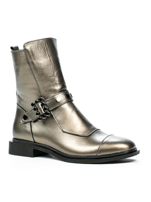 Ботинки серебряного цвета | 5274745