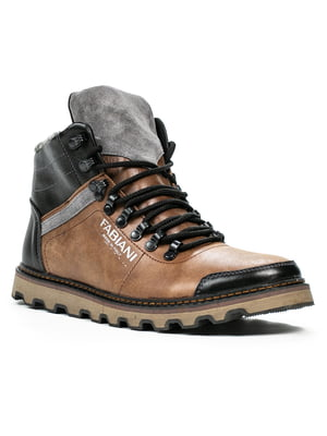 Ботинки коричневые | 5274752