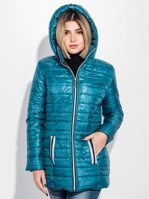 Куртка лазурного цвета | 5275832