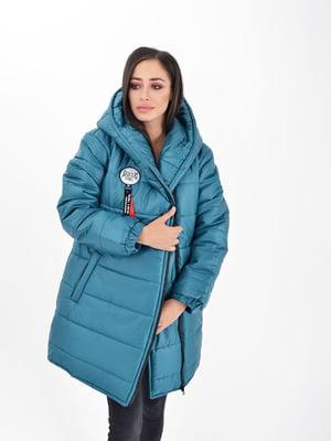 Куртка лазурного цвета | 5275833