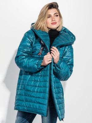 Куртка лазурного цвета | 5275836