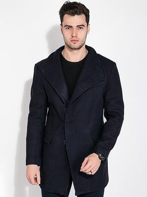 Пальто чернильного цвета | 5275916