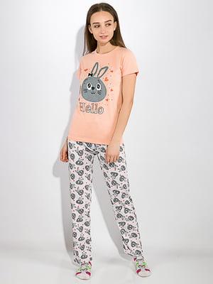 Пижама: футболка и брюки | 5275941