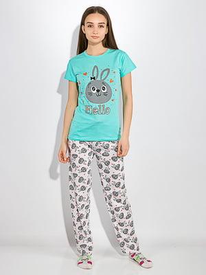 Пижама: футболка и брюки | 5275942