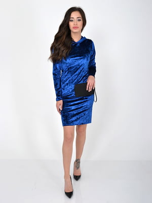 Сукня кольору електрик | 5275962