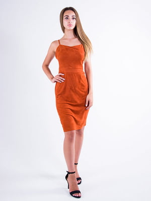 Сукня теракотового кольору | 5276039