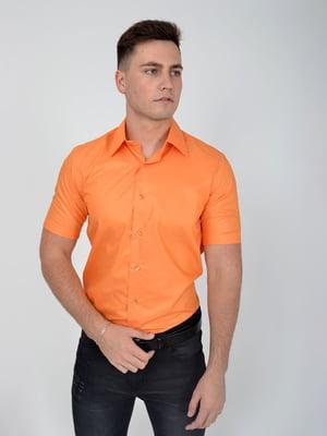 Рубашка оранжевая | 5276201