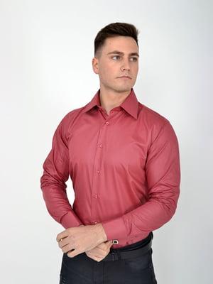 Сорочка темно-рожева | 5276216
