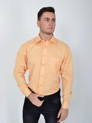 Рубашка оранжевая | 5276257