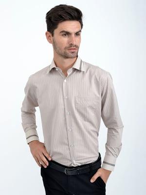 Рубашка бежевая | 5276274