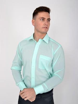 Сорочка кольору м'яти   5276348