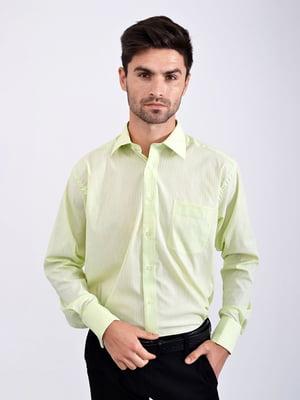 Рубашка салатовая | 5276349