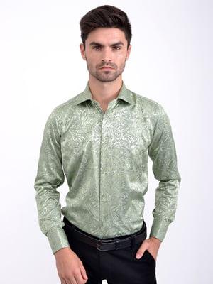 Рубашка зеленая   5276447
