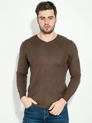 Пуловер коричневый | 5276471