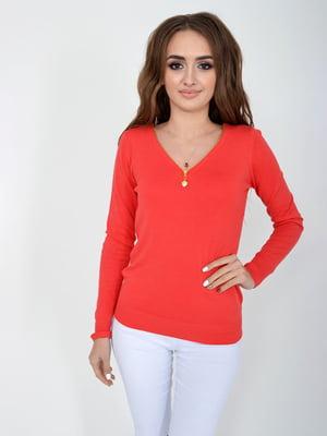Пуловер кораловий   5276513