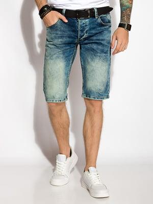 Шорты синие джинсовые   5276861