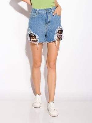 Шорти блакитні джинсові | 5276917
