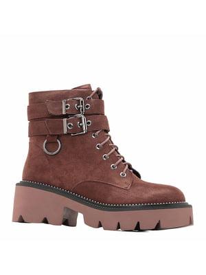 Ботинки коричневые | 5277518