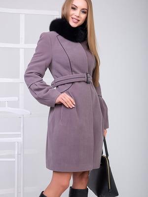 Пальто бузкового кольору | 5278783