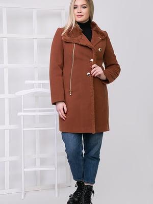 Пальто коричневое | 5278786