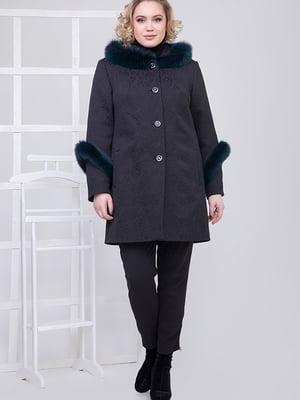 Пальто чорне | 5278789