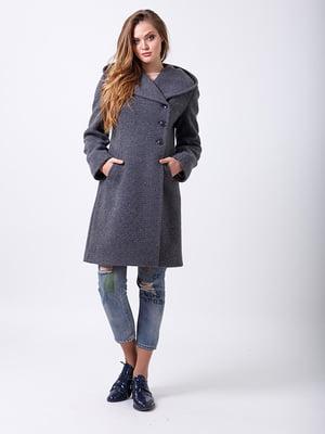 Пальто серое   5278791