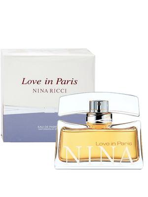 Парфюмированная вода Love In Paris edp (50 мл) - Nina Ricci - 5278832