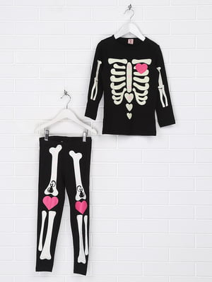 Костюм карнавальний «Скелет» | 5267335