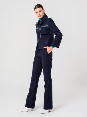 Жакет темно-синій | 5279426