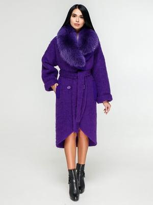 Пальто фіолетове   4876023