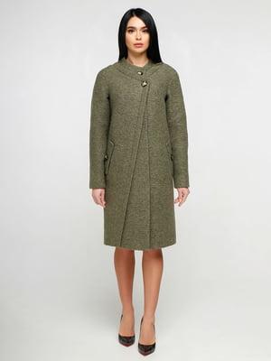 Пальто зеленое | 4886122