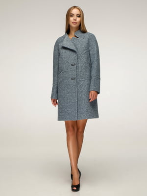 Пальто сіро-блакитне | 5212252