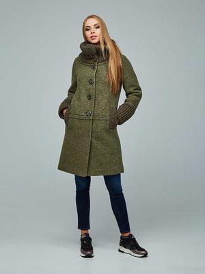 Пальто зелене | 5212265