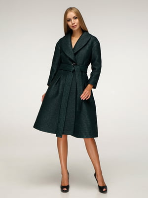 Пальто темно-зеленое | 5265758