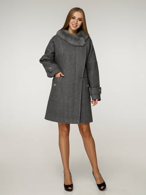 Пальто темно-оливкового цвета | 5265759