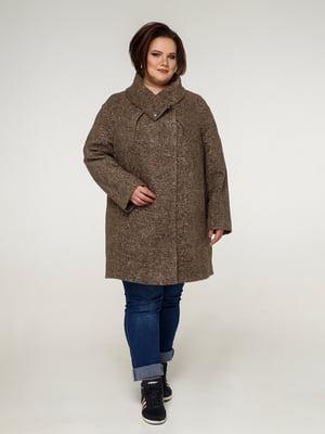 Пальто темно-оливкового цвета | 5265760