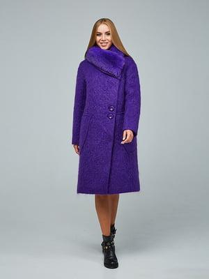 Пальто фіолетове   5265769