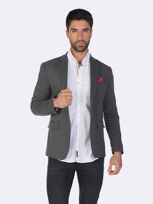 Пиджак серый | 5279656