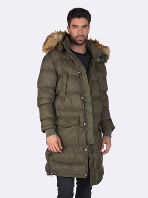 Куртка кольору хакі | 5279678