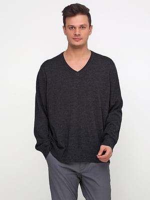 Пуловер серый | 5279918