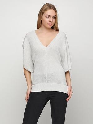 Пуловер светло-серый | 5280016