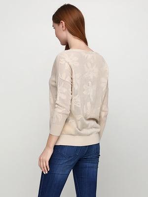 Пуловер бежевий | 5280027