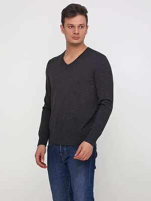 Пуловер темно-серый | 5280047