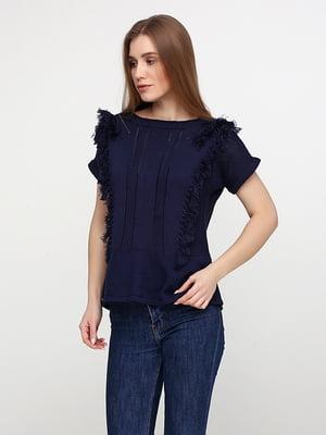 Блуза темно-синя | 5280060