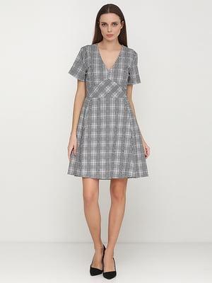 Сукня сіра картата | 5280066